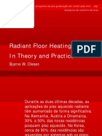 Radiant Floor Heating  In Theory and Practice