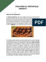 Documentos Para El Portafolio Grado 6