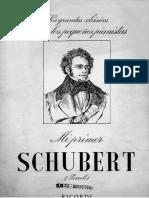 Mi primer Schubert - Obras Fáciles para Piano