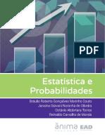 Livro Estatística Probabilidades EAD