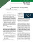 Analgesia Postoperatoria en Cirugía Pediátria