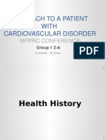 Approach to patient with Cardiovascular Disorder