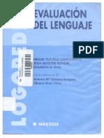 Evaluación Del Lenguaje - Miguel Puyuelo
