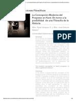 La Concepción Moderna Del Progreso en Kant