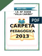 Carpeta Pedagogica-2013 Vc
