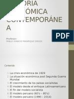 HISTORIA ECONOMICA CONTEMPORANEA