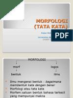 Kajian Bahasa Indonesia Sd Morfologi