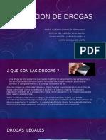 Clasificacion de Drogas
