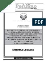 Norma E.030 - 2014_DS-003-2016-Vivienda_RNE