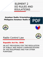 Revised PARA Element2 Radio Laws.pptx