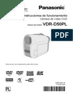 Descargaspla Pla Digitales Filmadoras Sd Vdr-d50pl Documento Manual de Usuario Vdr-d50pl Om Esp