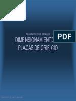 102 Dimensionamiento de Placas de Orificio