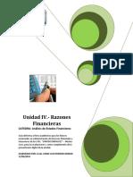 Guia Unidad IV - Razones Financieras