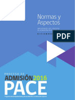 PACE - Normas