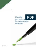 Livro - Check List Para Elaboração Das Demonstrações Financeiras
