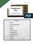 Repurposed Assignment One