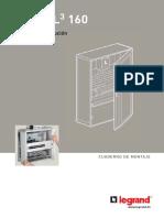 Documentacion Tecnica Cuaderno de Montaje XL3 160 Legrand
