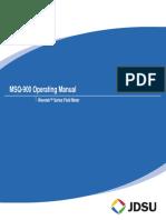 Manual de Operação MSQ900