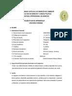 Silabo - ORATORIA FORENSE