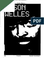 Bazin Andre - Orson Welles