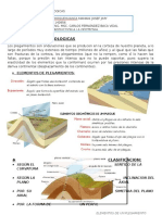 Pliegues y Fallas Geologicas