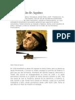 Santo Tomás de Aquino Biografia