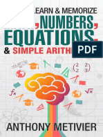 How to Learn and Memorize Math- Numbers- Equations- And Simple Arithmetic