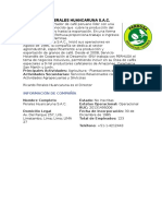Empresas Agroexportadoras de Lambayeque