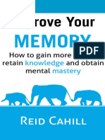 Improve Your Memory by Reid Cahill