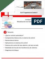 EL177 Unidad 1a Modelación de Sistems Físicos 2016-1