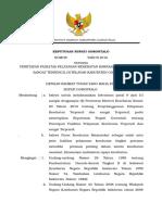 SK Bupati Penetapan FKTP Terpencil dan Sangat Terpencil