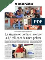 La Asignación Universal por Hijo moviliza a millones en las zonas más pobres de Argentina