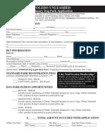 Tol Unleashed Membership Application Packet v2