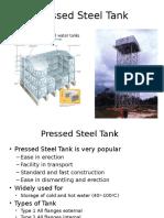 Pressed Steel Tank