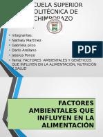 Factores Ambientales y Geneticos