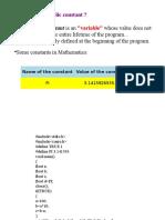 c Program Slide