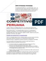 COMPETITIVIDAD PERUANA 2014