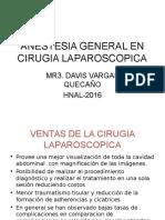 Anestesia General en Cirugia Laparoscopica