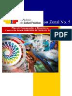 Plan de Emergencia Roberto Astudillo Marzo 2015