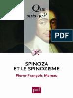 Pierre-François Moreau-Spinoza Et Le Spinozisme-Presses Universitaires de France - PUF (2014)