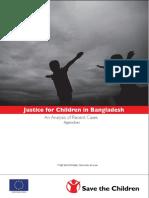 Justice for Children in Bangladesh (Appendixes)