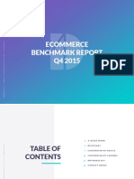 Demac Media Q4 2015 ECommerce Benchmark Report