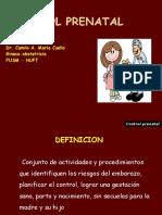 Control Prenatal Mi Presentacion Para Simposio - 2014