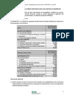 Formulación de Los Estados Financieros Para Una Empresa en Liquidación