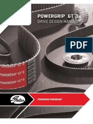8mm Pitch Gates 800-8MGT-85 GT 2 PowerGrip Belt 100 Teeth 85mm Width 31.50 Pitch Length