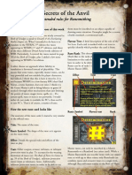 Secrets of the Anvil - wfrp 3rd ed