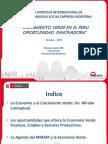 Crecimiento Verde en El Peru - Economico