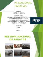 Reserva Nacional de Paracas - Universidad de San Martin de Porres