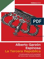 La Tercera República, Alberto Garzón