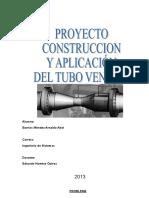 Proyecto Tubo Venturi